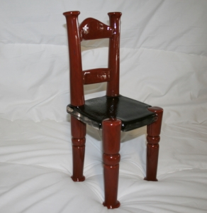 Hand Crafted Glass Chair