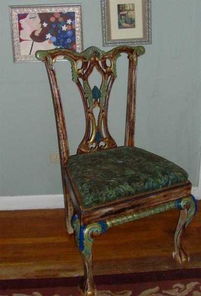 Chair affair artist kilen megan nw furniture bank for Furniture bank tacoma