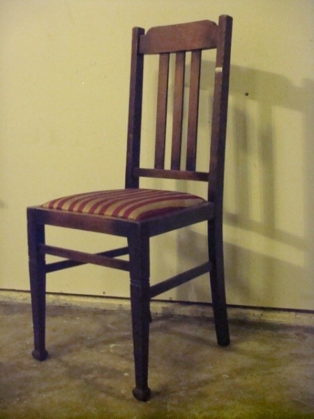 Chair affair artist saul valerie nw furniture bank for Furniture bank tacoma